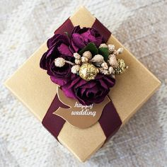 50 pcs Retrospeck Wedding Candy Favor Box with by sweetywedding, $109.50