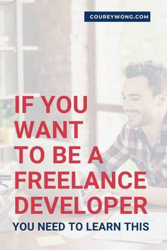 This One Thing Will Make You Valuable As A Developer | When it comes to learning the skills to become a web developer it's pretty simple. But there are programmers who got into coding to learn how to make money from their valuable skills. Yet they didn't develop this important skill that can make a huge difference. Whether you're trying to get a job or start freelancing. This one skill will put you one step closer to success. | web developer | learn to code #businesstips Learn Programming, Computer Programming, Html Projects, Learn Computer Science, Coding For Beginners, Create Your Own Blog, Coding Languages, Web Design Tips, Learn To Code