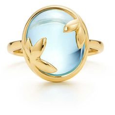 Paloma Picasso® Olive Leaf Ring @Tiffany&Co.