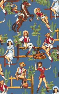 Cowgirls From the Hip   Out of Print and Rare  by PinkysCotton