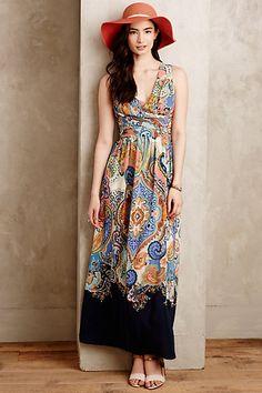 Anthropologie EU Vizcaya Maxi Dress, Style No. S7130425409811