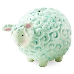 (CLICK IMAGE TWICE FOR DETAILS AND PRICING) Mud Pie Blue Lamb Bank. Pale blue ceramic lamb bank for girls and boys. See More Gifts at a href=http://www.ourgreatshop.com/Gifts-C196.aspx  target=_blank rel=nofollowhttp://www.ourgreatshop.com/Gifts-C196.aspx/a