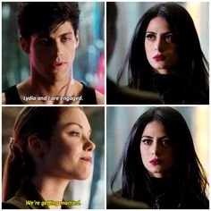 Isabelle's just like um no I sailed the malec ship and you are to married to Magnus tomorrow