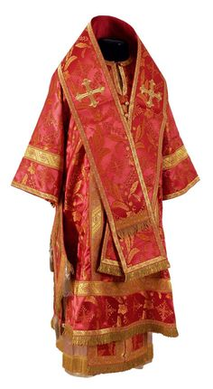 Orthodox Bishop Vestments Handmade by the Sewing and Embroidery Workshops of St.Elisabeth Convent    Every order helps support the ministry of the convent: https://catalog.obitel-minsk.com/sewing/bishop-vestments.html    #CatalogOfGoodDeeds #Orthodox #Vestments #BishopVestments #BuyVestments #OrderVestments #OrthodoxVestments