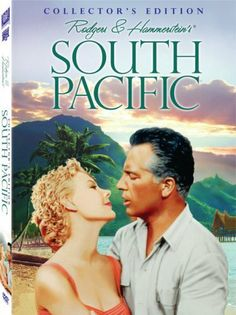 South Pacific (Collector's Edition) DVD ~ Rossano Brazzi, http://www.amazon.com....one of my favorite musicals as a child John Kerr, France Nuyen, Old Movies, Great Movies, Vintage Movies, Vintage Stuff, Vintage Posters, Musical Theatre, Musical Film