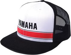 designer fashion 7a03f 1458b Factory Effex Yamaha Vintage Trucker Snapback Hat Cap Snap Back Adjustable  Snap Backs, Snapback Hats
