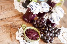 Red grape jam with Porto