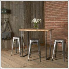 Modern Custom Furniture Bar Height Table Urbanwoodgoods