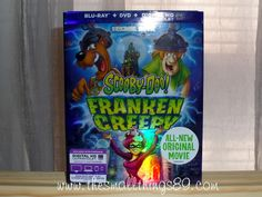 Scooby-Doo! Frankencreepy! {#Review} {#Giveaway} Ends 9/2