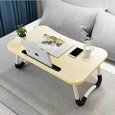 Amazon.com: lap desk with legs Lap Desk For Kids, Laptop Table For Bed, Kids Study Desk, Laptop Tray, Laptop Desk, Table Sofa, Couch Sofa, Bed Stand, Foldable Table