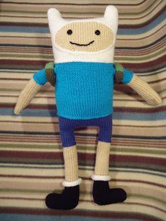 Finn the Human knitting pattern on Ravelry
