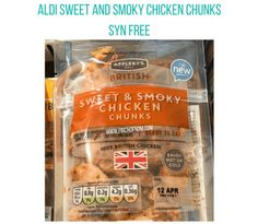 Aldi Syns, Aldi Slimming World, Chicken Chunks, Syn Free, Deli, Free Food, Food And Drink, Drinks, Sweet