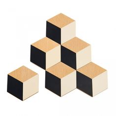 Køb Areaware - Table tiles bordskåner - sort/beige