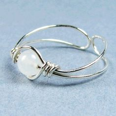 Sterling Silver Toe Ring 56 Choices - I think I can make this! I'd make it for my finger.