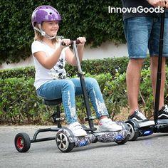 InnovaGoods Hoverbike for the Hoverboard -teknaShop Scooters, Hover Bike, Gadget, Shower Gel, Outdoor Power Equipment, Baby Strollers, Skateboard, Hoverboard, Buy Kitchen