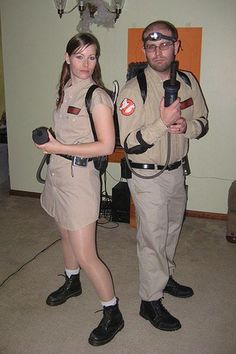 Homemade Ghostbusters Costume Ideas.