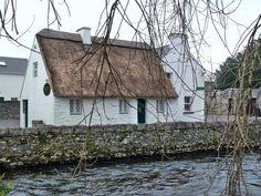 The Quiet Man Museum, Cong, Co. Mayo - what a lovely Irish village. Scotland Travel, Ireland Travel, Ireland Vacation, County Mayo Ireland, The Quiet Man, Southern Ireland, Images Of Ireland, Irish Cottage, Emerald Isle