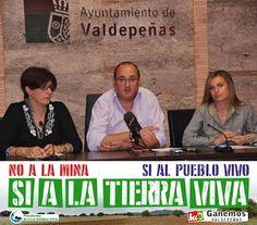 NP El Grupo Municipal de IU Ganemos Valdepeñas apoya Manifestación Tractorada Sí a la Tierra Viva