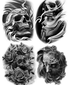 Lessons That Will Get You In The arms of The Man You love Skull Rose Tattoos, Skull Hand Tattoo, Body Art Tattoos, Hand Tattoos, Chicano Tattoos Sleeve, Full Sleeve Tattoos, Tattoo Sleeve Designs, Tattoo Design Drawings, Skull Tattoo Design