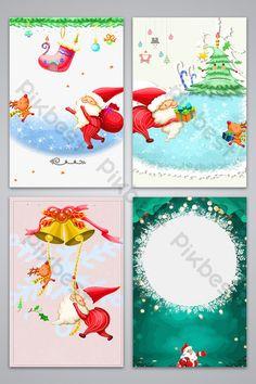 Hand drawn cartoon fresh Christmas background image#pikbest#backgrounds