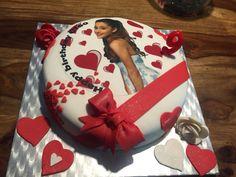 Ariana Grande Cake fait maison!!!❤️❤️❤️