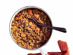 Perfect pot of lentils
