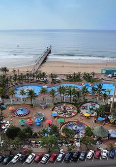 Fishing pier on Durban beach front - KZN - South Africa Beautiful Places In The World, Beautiful Homes, Durban South Africa, Namibia, Kwazulu Natal, Africa Travel, Adventure Is Out There, Countries Of The World, The Good Place