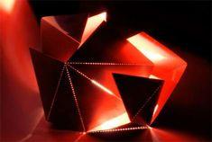 Folding Lamp | Thomas Hicks Cultivated luminaires