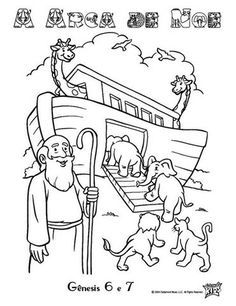 Arca De Noe Desenhos Arca De Noe Desenho Desenhos Biblicos Para