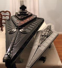 Lego Star Wars - Custom Eclips Star Dreadnaught