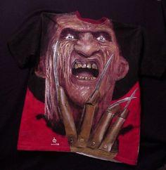 Freddy Kruegers Revenge t-shirt painting by Dean Huck on ARTwanted