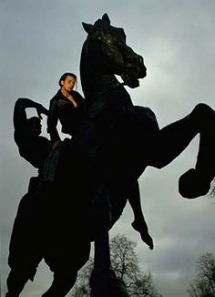 suede band photoshoot brett anderson horse