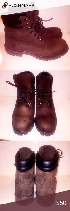 """Brown Timberland Boots 6"""" Heritage Timberland Boots Timberland Shoes Boots"""