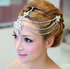 2014 High Quality Luxury Bridal Wedding Hair Crown Frontlet Headdress Wedding accessories -in Hair Jewelry from Jewelry & Accessories on Aliexpress.com | Alibaba Group