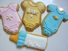 Baby Cookies and Cupcakes