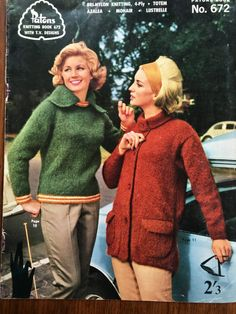 Vintage Knitting Pattern Collector Original Knitting Book