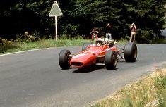 1967 GP Niemiec (Chris Amon) Ferrari 312/67