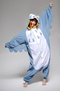 Owl Adult Onesie - Don't judge me, but i kinda really want this lol. Animal Halloween Costumes, Holiday Costumes, Fancy Costumes, Cosplay Costumes, Halloween Ideas, Pyjamas Onesie, Onesie Dress, Lazy Day Outfits, Cute Outfits