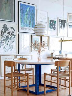 Bolig: Her er tomme vægge ikke en mulighed Decor, Dining Room Design, Interior, Kitchen Interior, Vintage Interior, Interior Spaces, Home Decor, House Interior, Home Furnishings