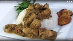 Curry Chicken Recipe With Coconut Milk. Best Island Flavor Ever. Watch In 1080pHD