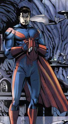 Spidey's new suit?