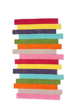 Rugs USA Keno Contempo Stripes Multi Rug. 4th of July Sale! Pick from 1 of 2 promotions to save today!  Area rug, carpet, design, style, home decor, interior design, pattern, trend, statement, summer, cozy, sale, handmade, sale, discount, free shipping.
