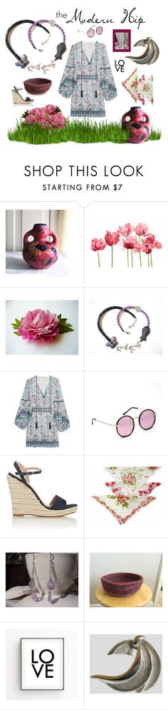 """""""the Modern Hip"""" by seasidecollectibles ❤ liked on Polyvore featuring Schick, Talitha, Barneys New York, modern and vintage"""