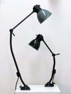 Kandem Task Lamps   From a unique collection of antique and modern wall lights and sconces at http://www.1stdibs.com/furniture/lighting/sconces-wall-lights/