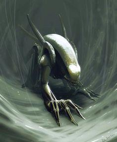 Image: Alien Xenomorph by Alexander: namelessrocker.deviantart.com
