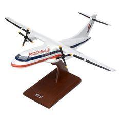 Daron Worldwide ATR-42 American Eagle Model Airplane - KATR42AET