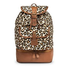 Leopard Print Backpack from Target