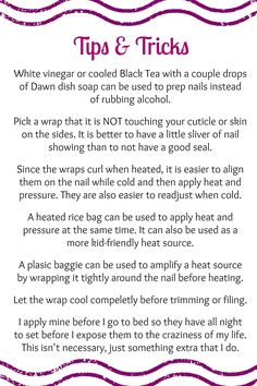 Tips and tricks! chrissybusick.jamberrynails.net