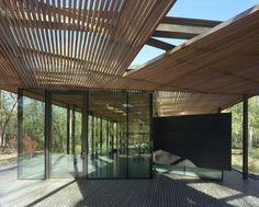 Pabellón de Visitantes Ruth Lilly / Marlon Blackwell Architect