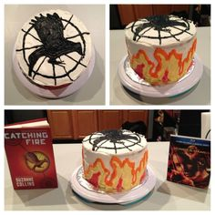You know #UrAHungerGamesFan when your birthday cake looks like this! (via @BriannaPearage on Twitter)